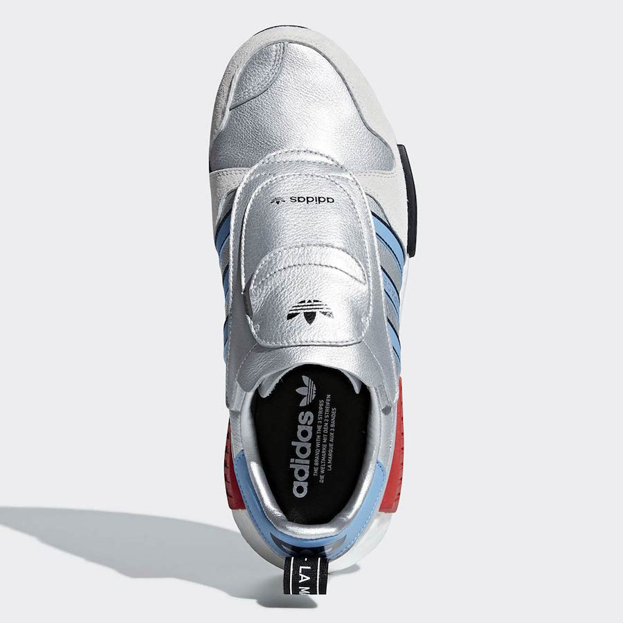 4ddedb70c adidas Micropacer R1 Release Date  September 2018. Price   170. Color   Silver Met. Light Blue FTWR White Style Code  G26778