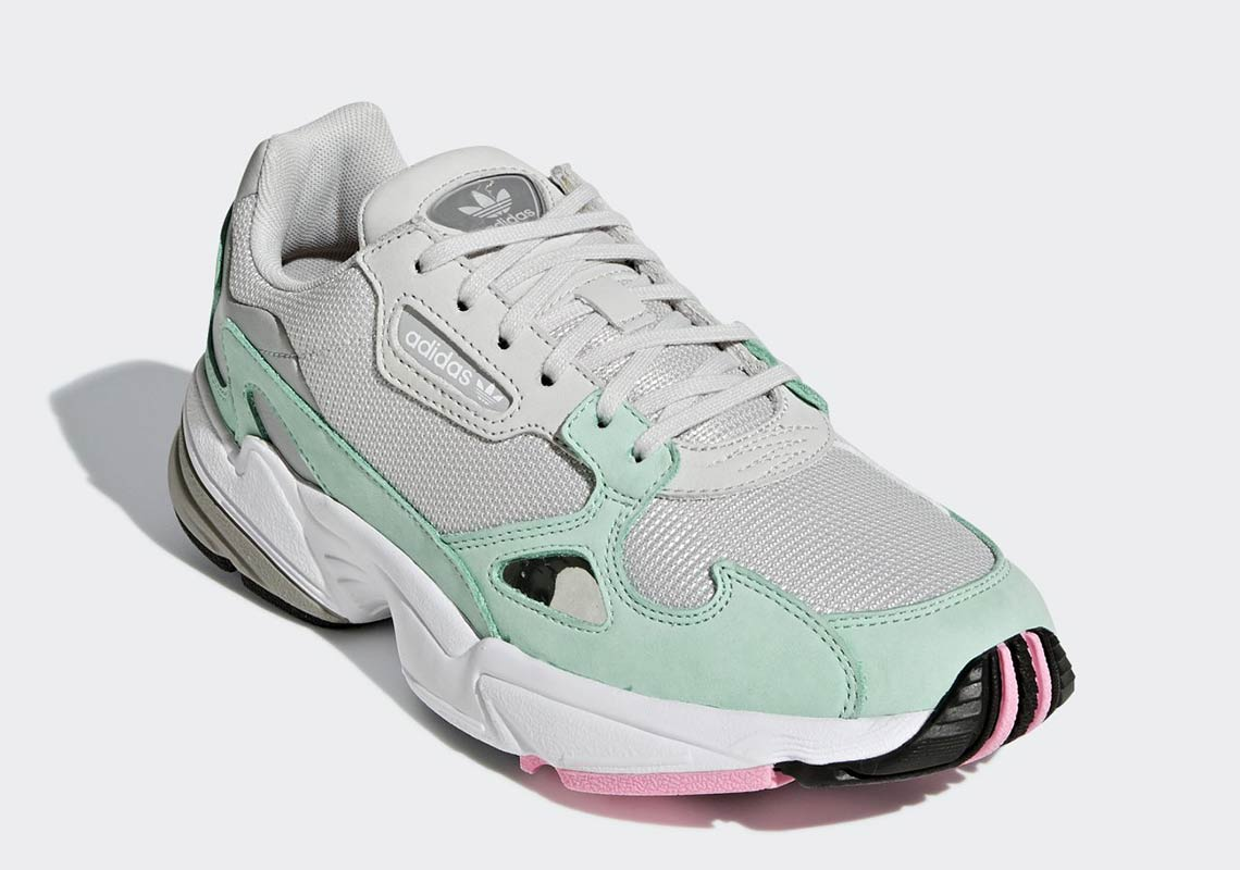 sports shoes 7bfd0 fd4f8 adidas Falcon Release Date  Coming Soon Price   100. Color  Aero Green FTWR  White Cloud White Style Code  B28127