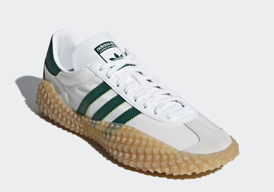 Unir Corbata Terraplén  adidas Kamanda Country White/Green First Look - JustFreshKicks