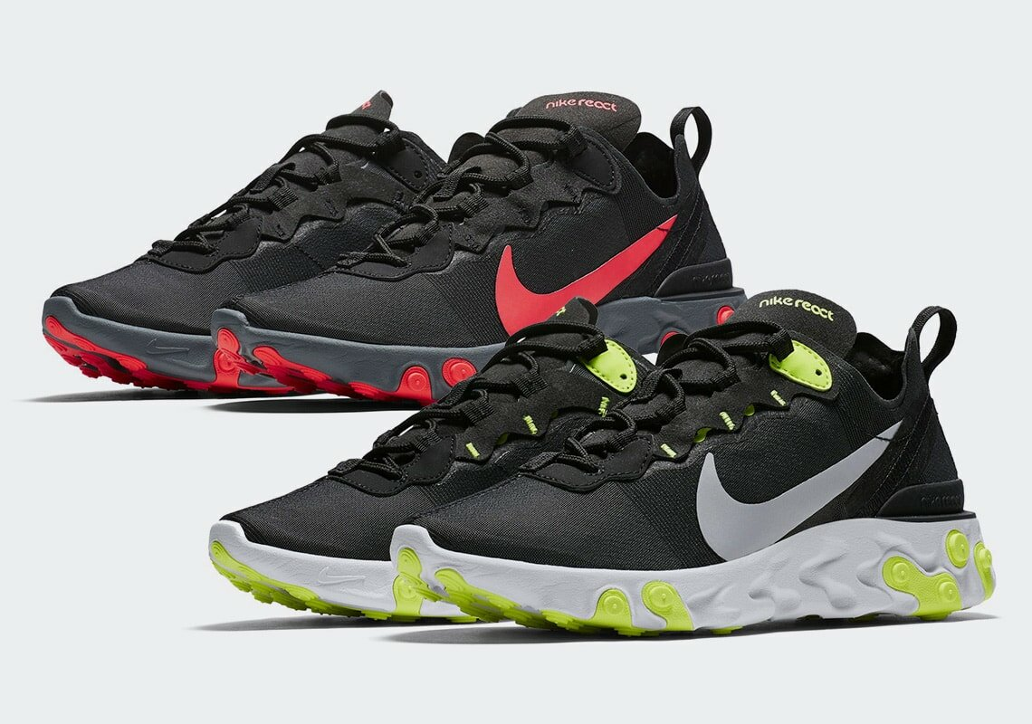 online retailer e239d 0d46a Nike React has been causing a commotion in the sneaker scene. After finally  dropping in its first four colorways this Summer, we now have a good look  at the ...