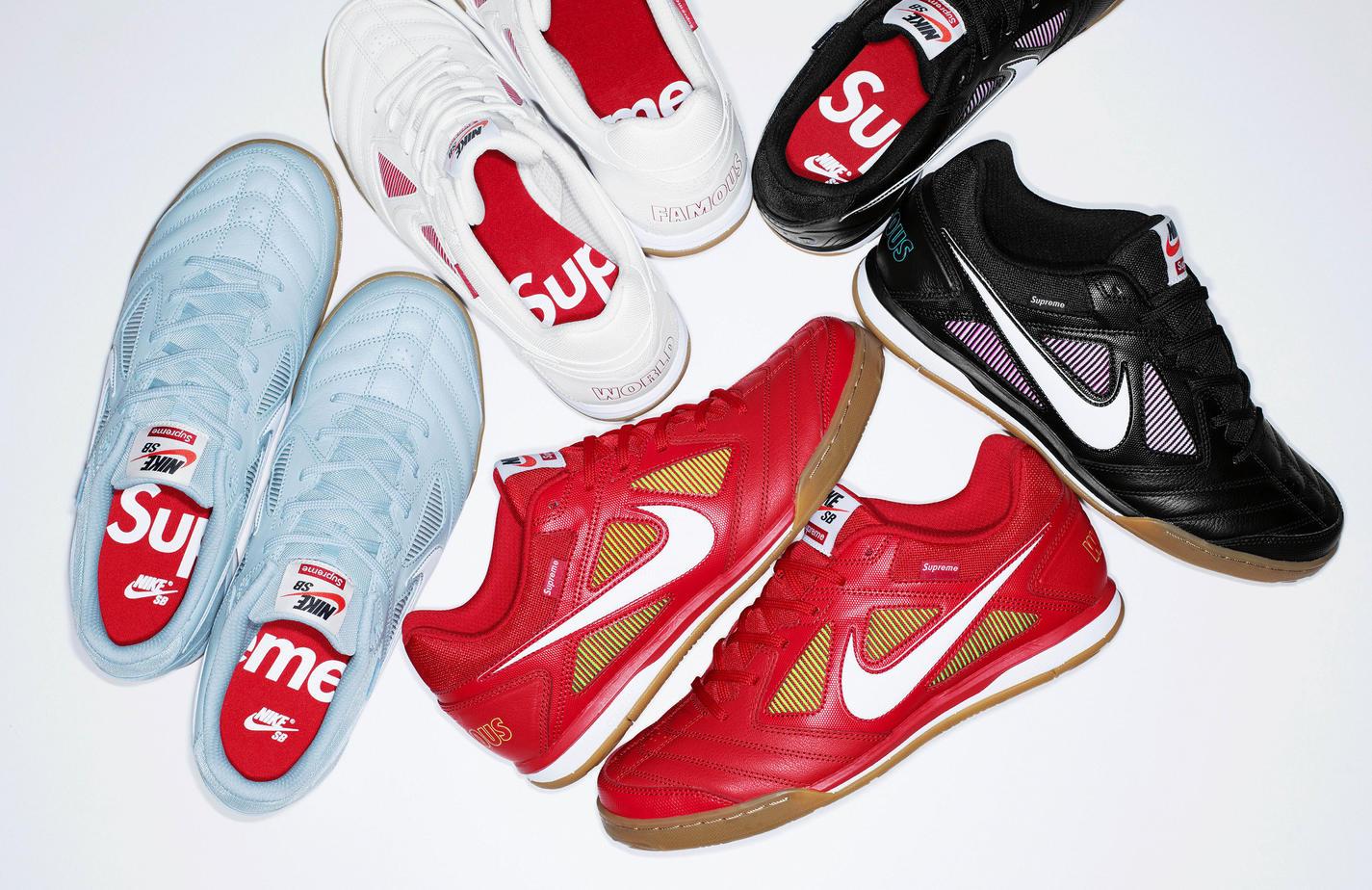 Supreme x Nike SB Gato August 2018 Release Info ...