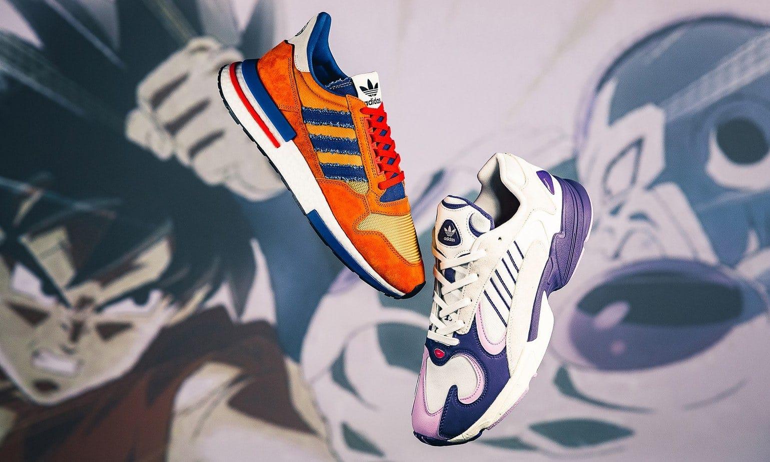 Dragon Ball Z x adidas Goku Frieza Online Links - JustFreshKicks
