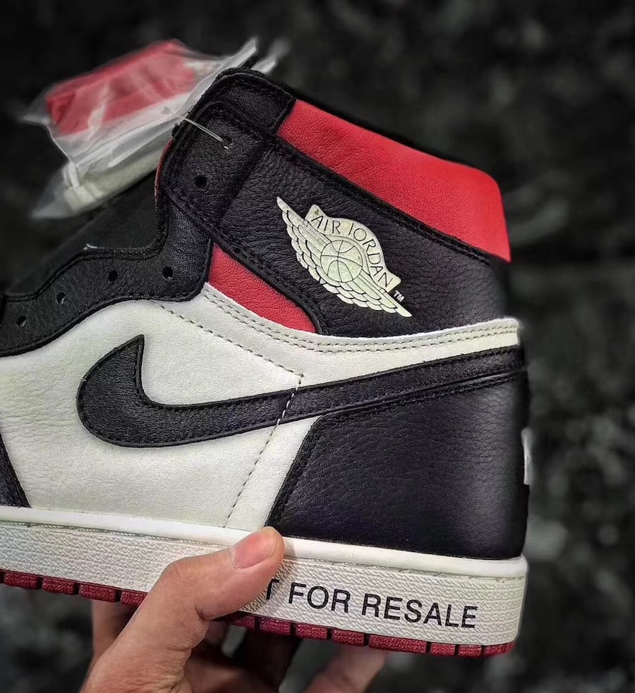 289086a4575 Air Jordan 1 Retro High OG NRG Release Date: December 2018. Price: $160.  Color: Sail/Black-Varsity Red Style Code: 861428-106