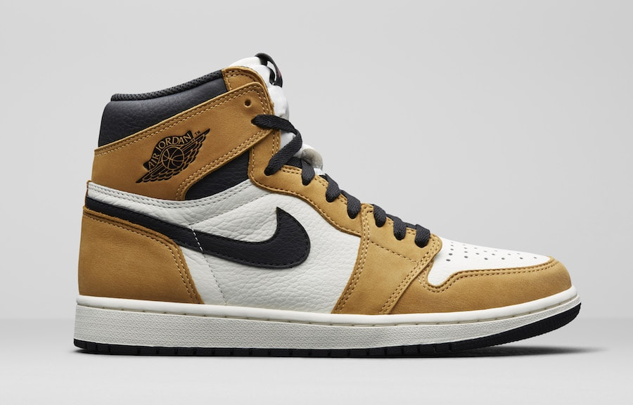 "13b709efdfb7e4 The Air Jordan 1 Celebrate s Mike s ROTY With a New ""Wheat Toe"" Colorway"