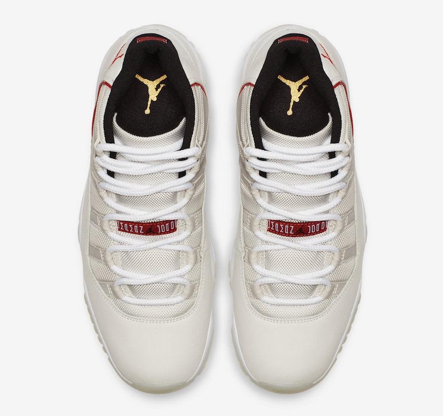 c0eee8b2ef5 Air Jordan 11 Retro High Platinum Tint Release Info - JustFreshKicks