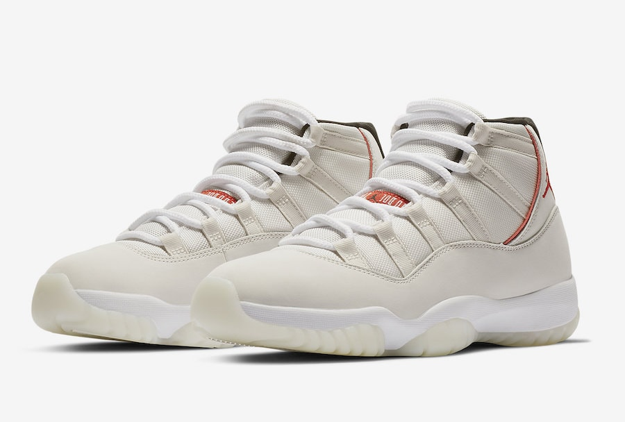 wholesale dealer ddcea 4c7ee Air Jordan 11 Retro High Platinum Tint Release Info - JustFreshKicks