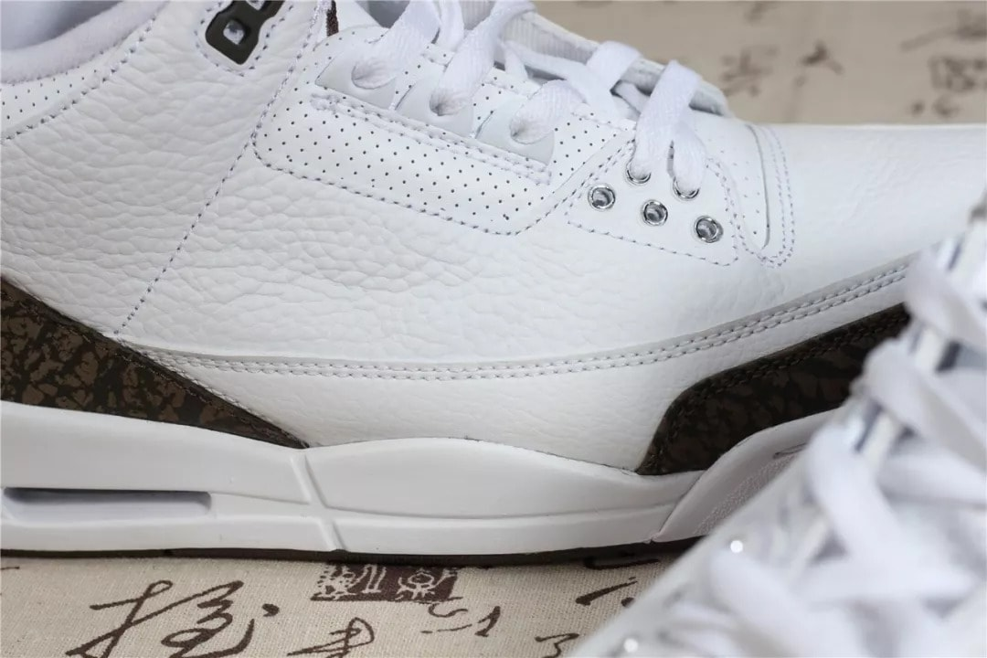 ca3b405a307b ... sale air jordan 3 retro mocha release date december 2018. price 190.  color white