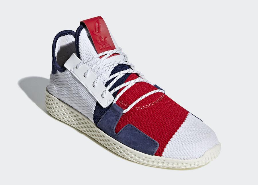 pretty nice 1b47f ec846 Pharrell x adidas Tennis Hu V2