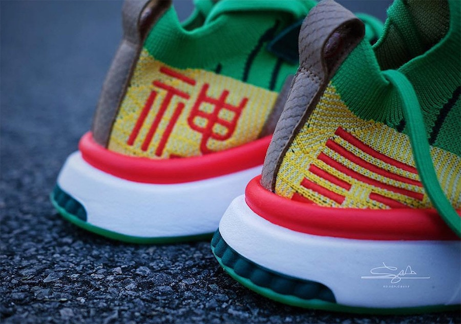 "182e00b305be44 Dragon Ball Z x adidas EQT Support Mid ADV ""Shenron"" Release Date  December  22nd"