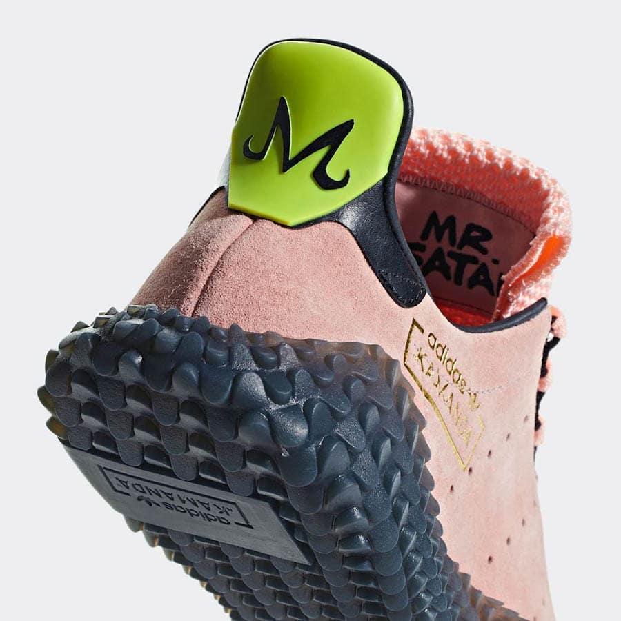 "5b9225f1672745 Dragon Ball Z x adidas Kamanda ""Majin Buu"" Release Date  November 2018.  Price   130. Style Code  CQ2217"