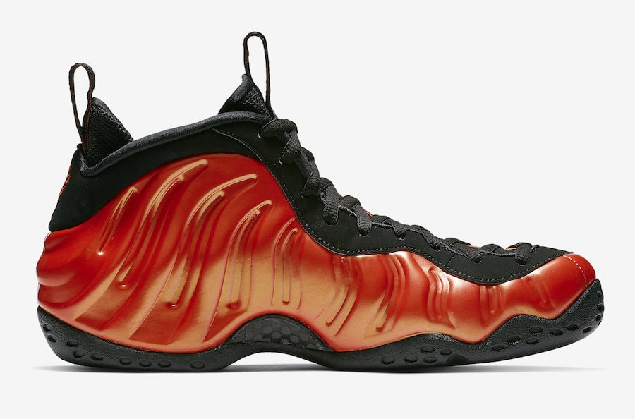 sports shoes 086fe ee6fb Nike Air Foamposite One Release Date  October 26th, 2018. Price   230.  Color Habanero Red Black Style Code  314996-604