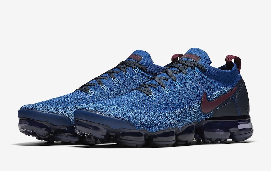 "timeless design 1f2d8 91da7 Nikes Air Vapormax Flyknit 2 Returns in a Subtle ""Gym Blue"" This Fall"