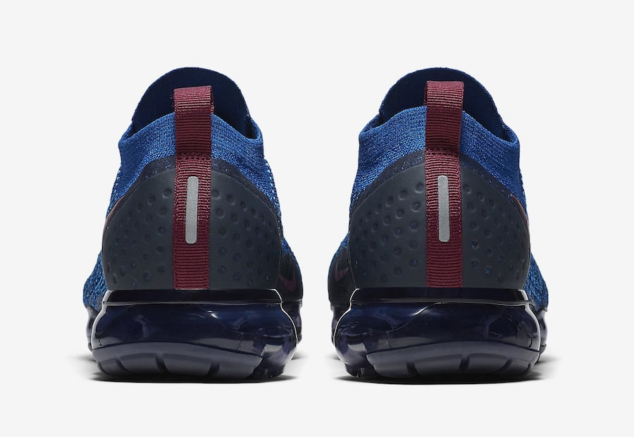 1df4485dee8 Nike Air VaporMax 2.0. Release Date  Fall 2018. Price   190. Color  Gym Blue Bordeaux-College  Navy Style Code  942842-401