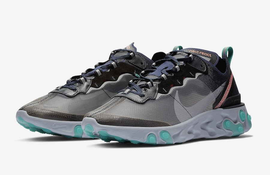 ... Neptune Green Black Bright Mango ... newest f695c 8bf51  Nike React  Element 87. Release Date Coming Soon Price 160. Color BlackNeptune Green- 485f62fb765