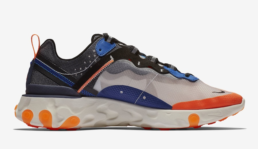 1d2f86a8b723f Nike React Element 87. Release Date  Coming Soon Price   160. Color  Black Neptune  Green-Bright Mango-Midnight Navy Style Code  AQ1090-005