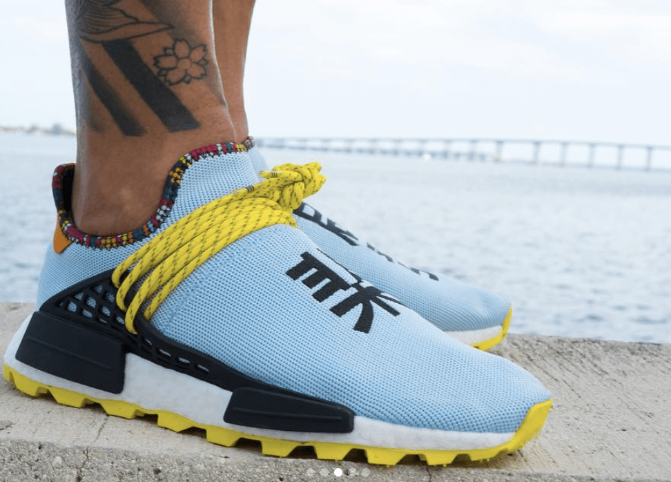 3e67ee25a Pharrell Williams x adidas Hu NMD