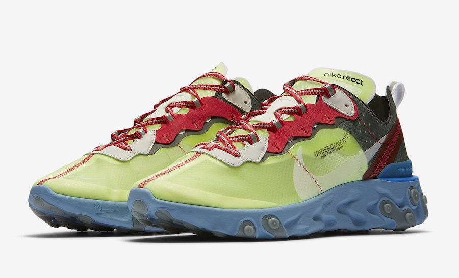 5f87ccf31cd3 Undercover x Nike React Element 87 New Release Info - JustFreshKicks