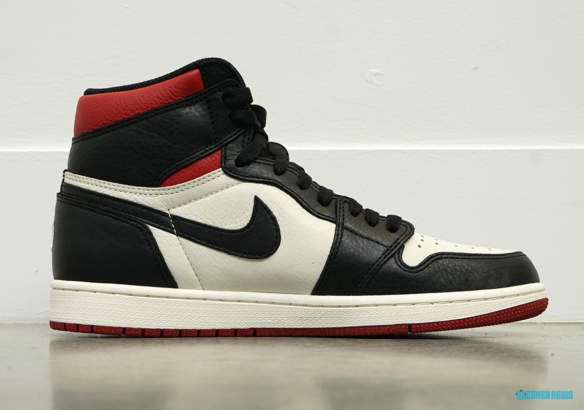 """hot sale online ff116 4444e The Air Jordan 1 High """"No L's"""" Surfaces in Detailed New ..."""