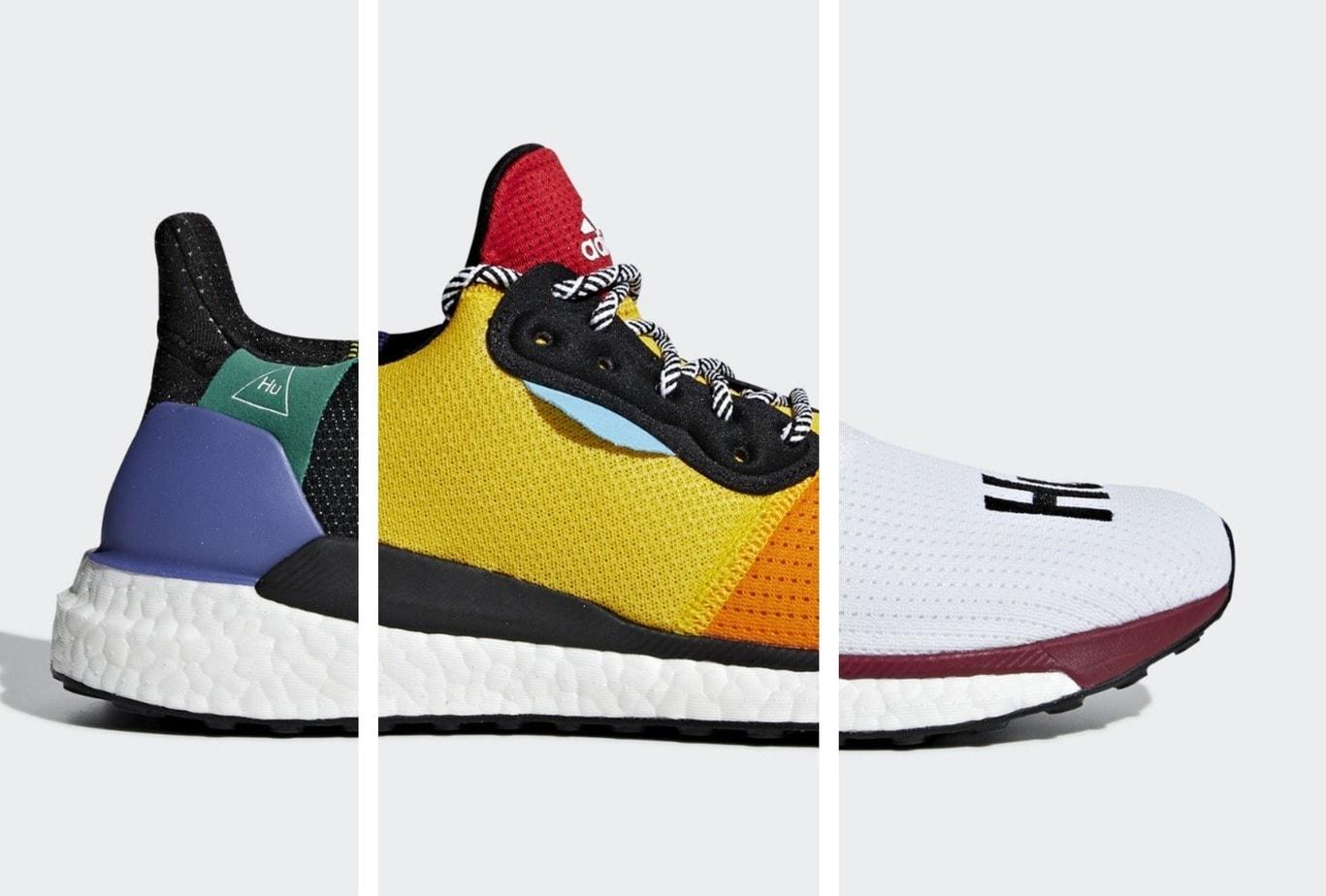Pharrell x Solar adidas Solar x Glide Hu Pack Release Info JustFreshKicks 50f34a