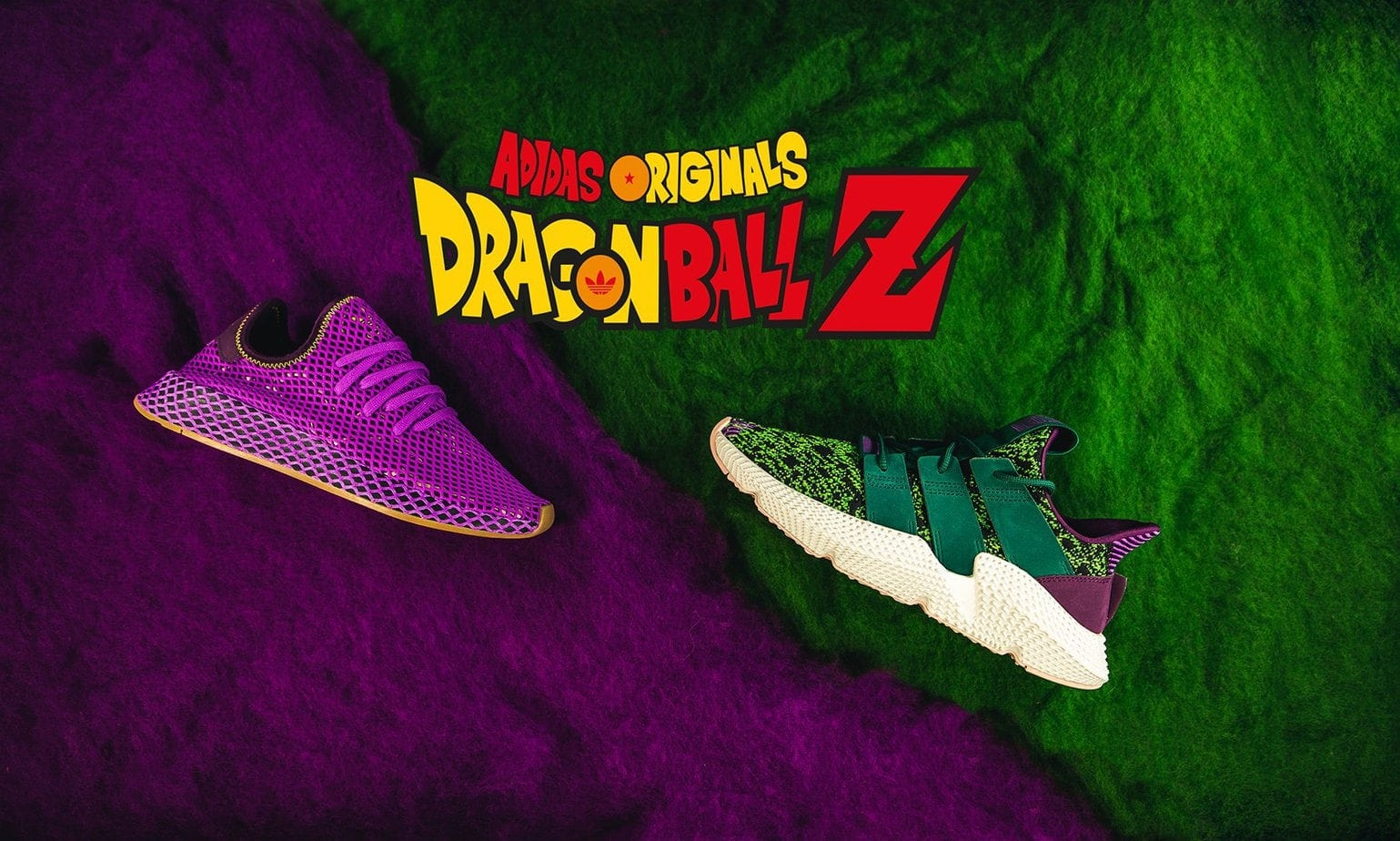 official photos 068f3 209b5 The first round of the Dragon Ball Z x adidas collection is releasing this  Friday, October 26th with the Prophere Cell and Deerupt Son Gohan.