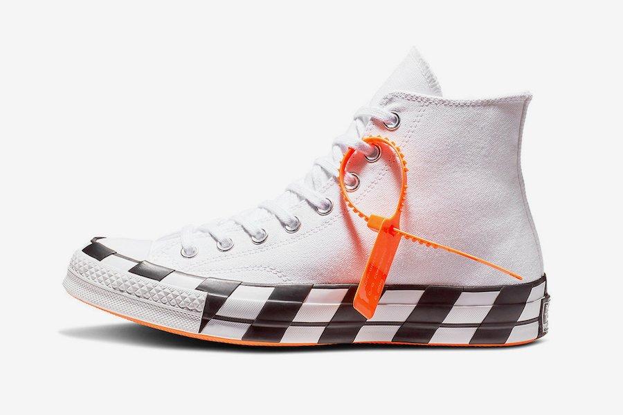 Off-White x Converse Chuck 70. Color  White Bold Orange-Black Style Code   163862C Release Date  October 8 11d697f64
