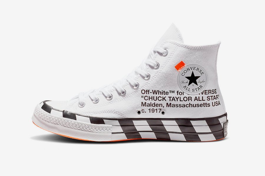 4a3ad5e72eca34 Off-White x Converse Chuck 70. Color  White Bold Orange-Black Style Code   163862C Release Date  October 8