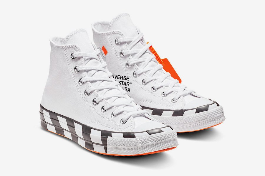 converse chucks off white