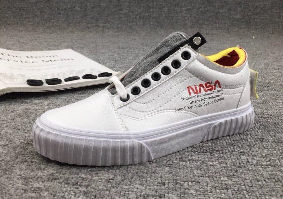 f7574dc2d5 NASA and Vans Take Skate Shoes to Outer Space with Their Upcoming Collection