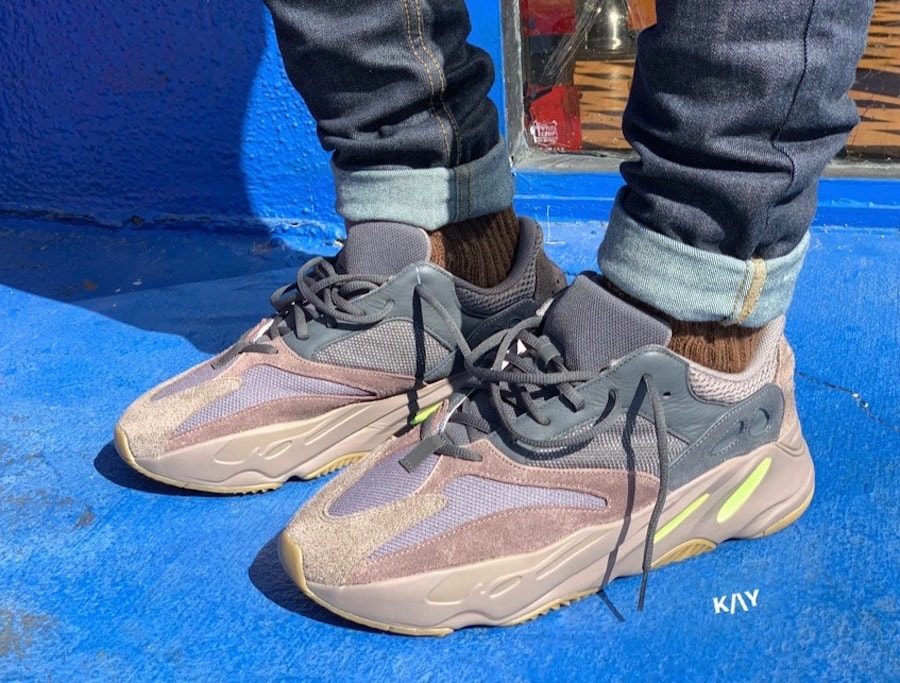 """ceaf3964abb0 On Foot Look at the adidas Yeezy Boost 700 """"Mauve"""" Coming Soon"""