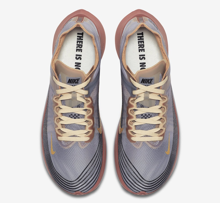 "bfc0c918e2b7 Nike Zoom Fly SP ""London"" Release Date  October 2018. Price   150. Color   Wolf Grey Desert Ore-Metallic Style Code  AV7006-001"