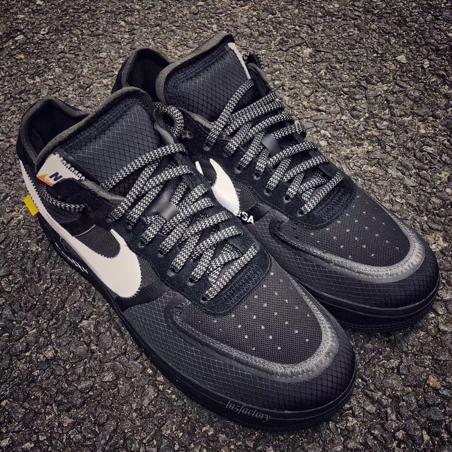 de45cbd52ee5 Off-White x Nike Air Force 1 Low Release Date  November 2018. Price   170.  Color  Black White Style Code  AO4606-001