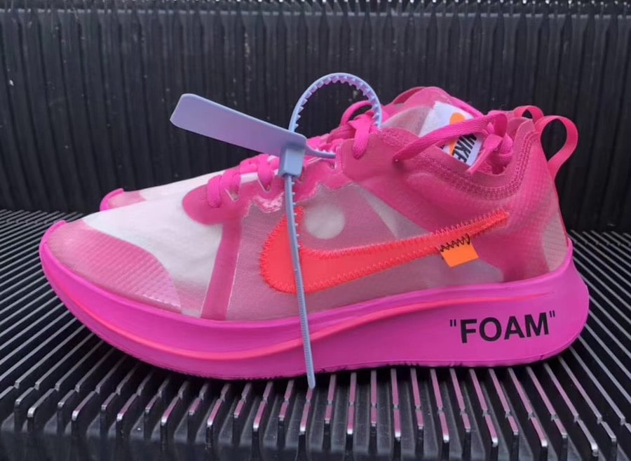 de338de154af Off-White x Nike Zoom Fly SP Black   Pink Release Info - JustFreshKicks