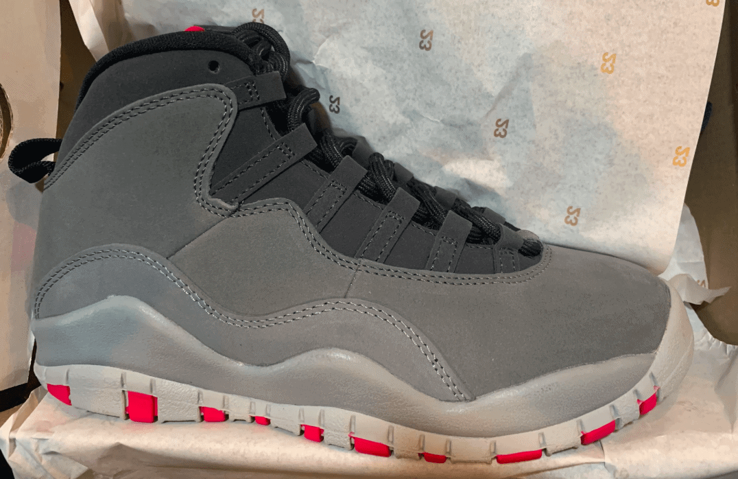 Release Date Details. Air Jordan 10 GS Color  Dark Smoke Grey Rush ... cf22c18b7
