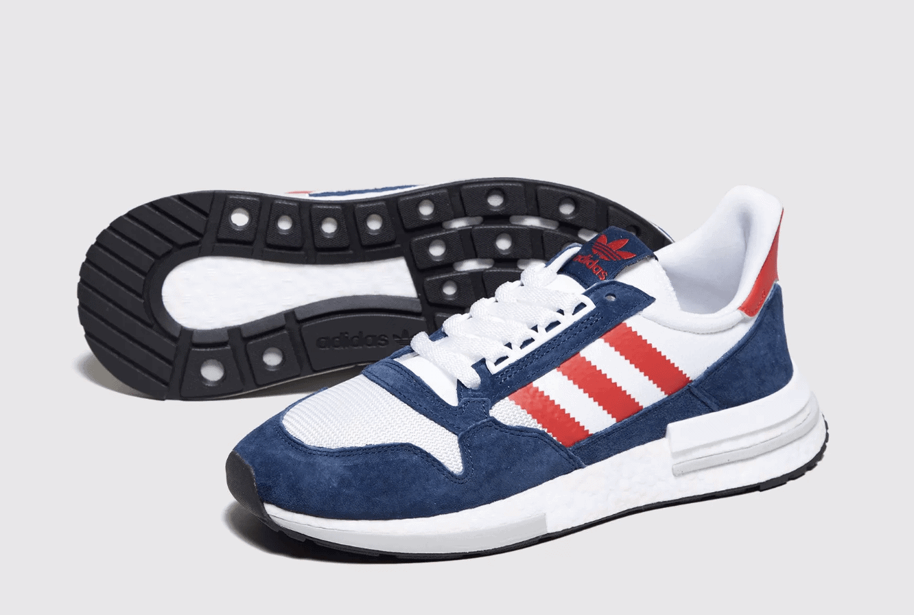 c50e83989fc99 size  x adidas ZX500 RM Release Date  Available Now Price   130. Color   White Navy Red
