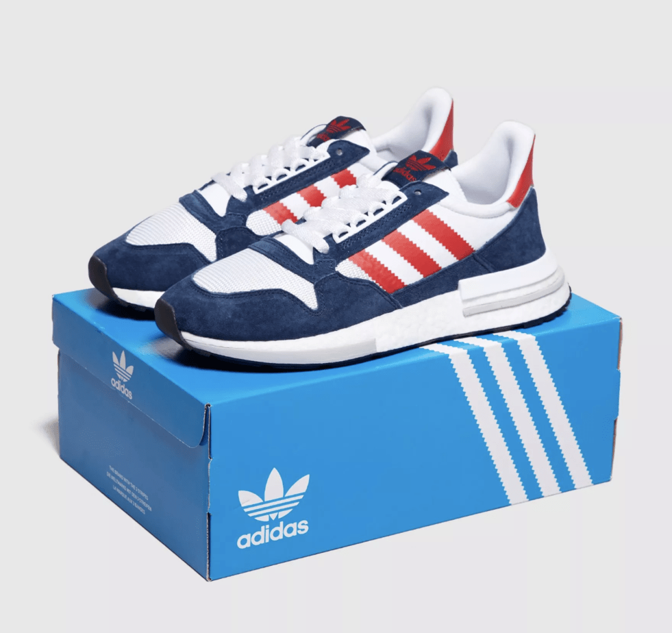 daaa489046155 size  x adidas ZX500 RM Release Date  Available Now Price   130. Color   White Navy Red