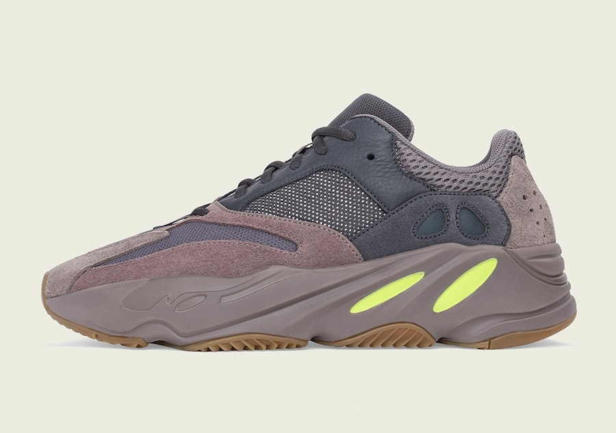"differently 5730e 3ed27 Following the Wave Runner restock last month, the adidas Yeezy Boost 700 "" Mauve"" is next up to release this Saturday, October 27th."