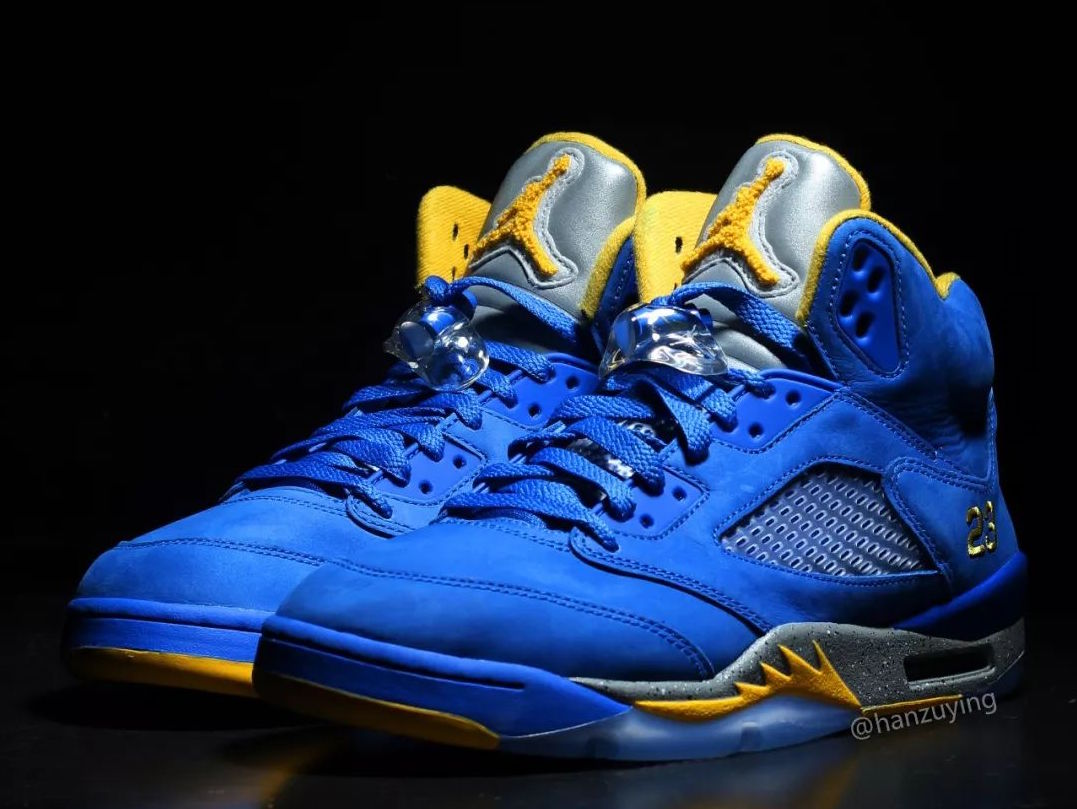 "online retailer 89aaa b149b First Look at the Air Jordan 5 ""Laney"" Launching in 2019"