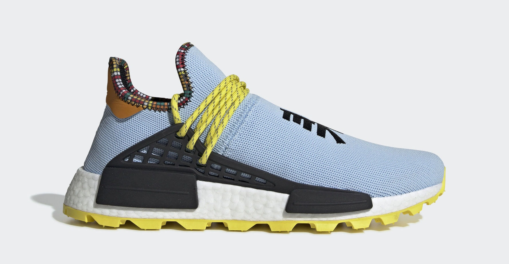 2a0a24208 adidas nmdxr1 black  pharrell x adidas nmd hu inspiration clear sky bright  yellow black november 10 2018