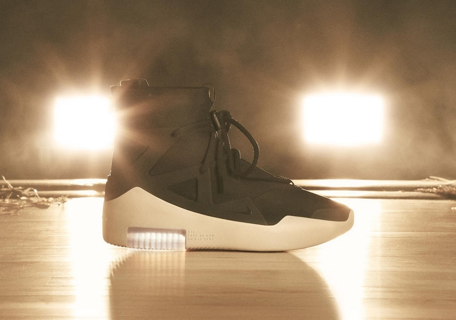 sports shoes 731ee 29d6f Nike Air Fear of God 1. Release Date  December 15th, 2018. Price   395.  Color  Black Black Style Code  AR4237-001