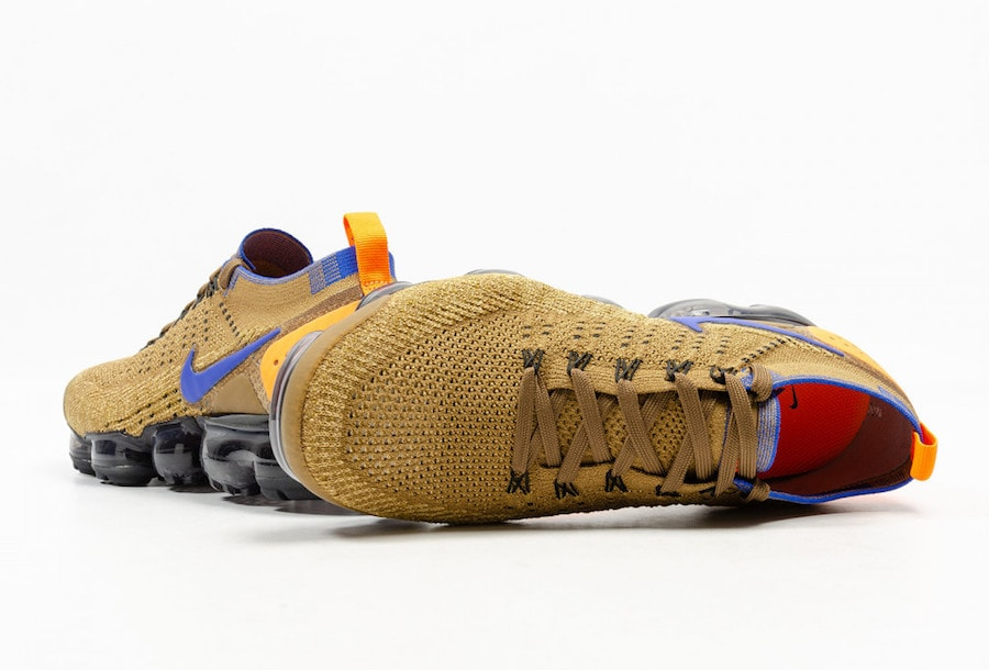 2c36d34ab9b Nike Air VaporMax Flyknit 2. Release Date  Coming Soon Price   190. Color  Golden  Beige Racer Blue-Club Gold Style Code  942842-203