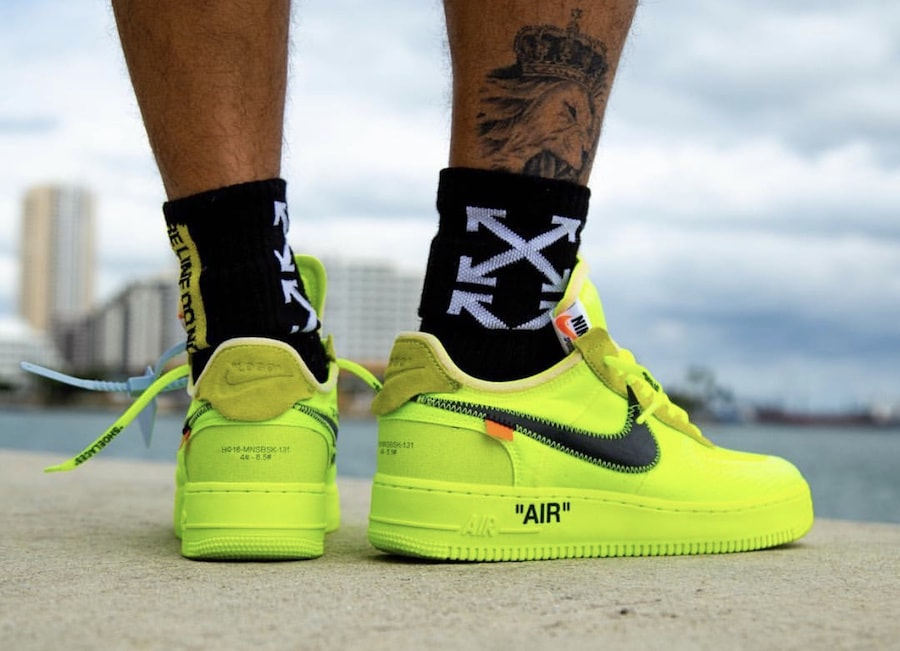 best service 07c89 a6636 Off-White x Nike Air Force 1 Low Release Date  December 19th, 2018. Price    170. Color  Black White Style Code  AO4606-001