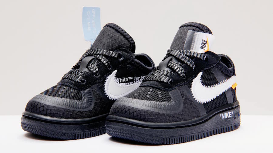 Off-White x Nike Air Force 1 Low Kid s Release Information ... 56c094b31f