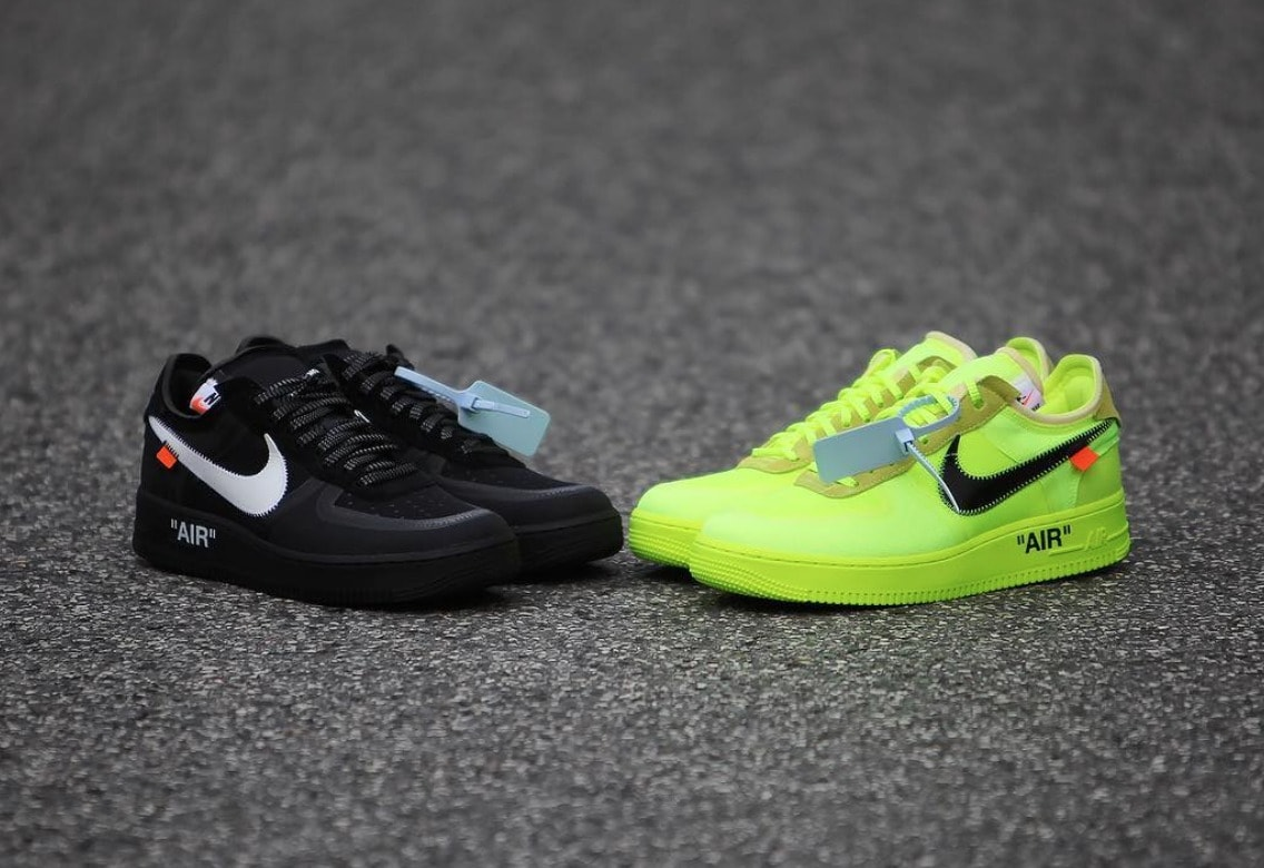 new product 1d32a 74e2d The Off-White Air Force 1 was one of the sleeper hits from Virgil s  collaboration with Nike. Since the original release, several new colorways  have been ...