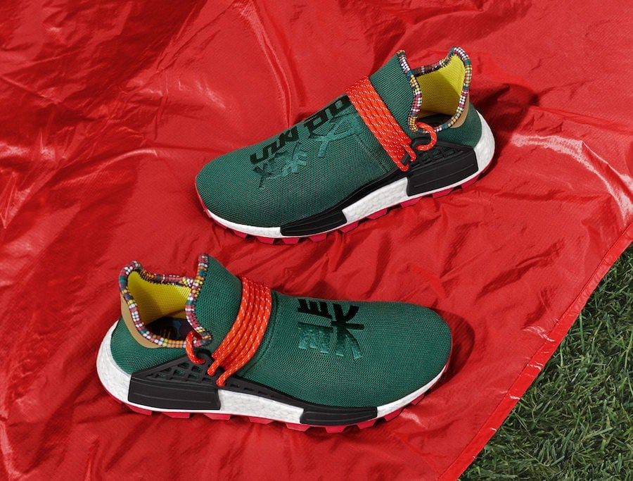 183ffc6df4308 Pharrell s adidas NMD Inspiration Pack is Joined by a New Green Pair
