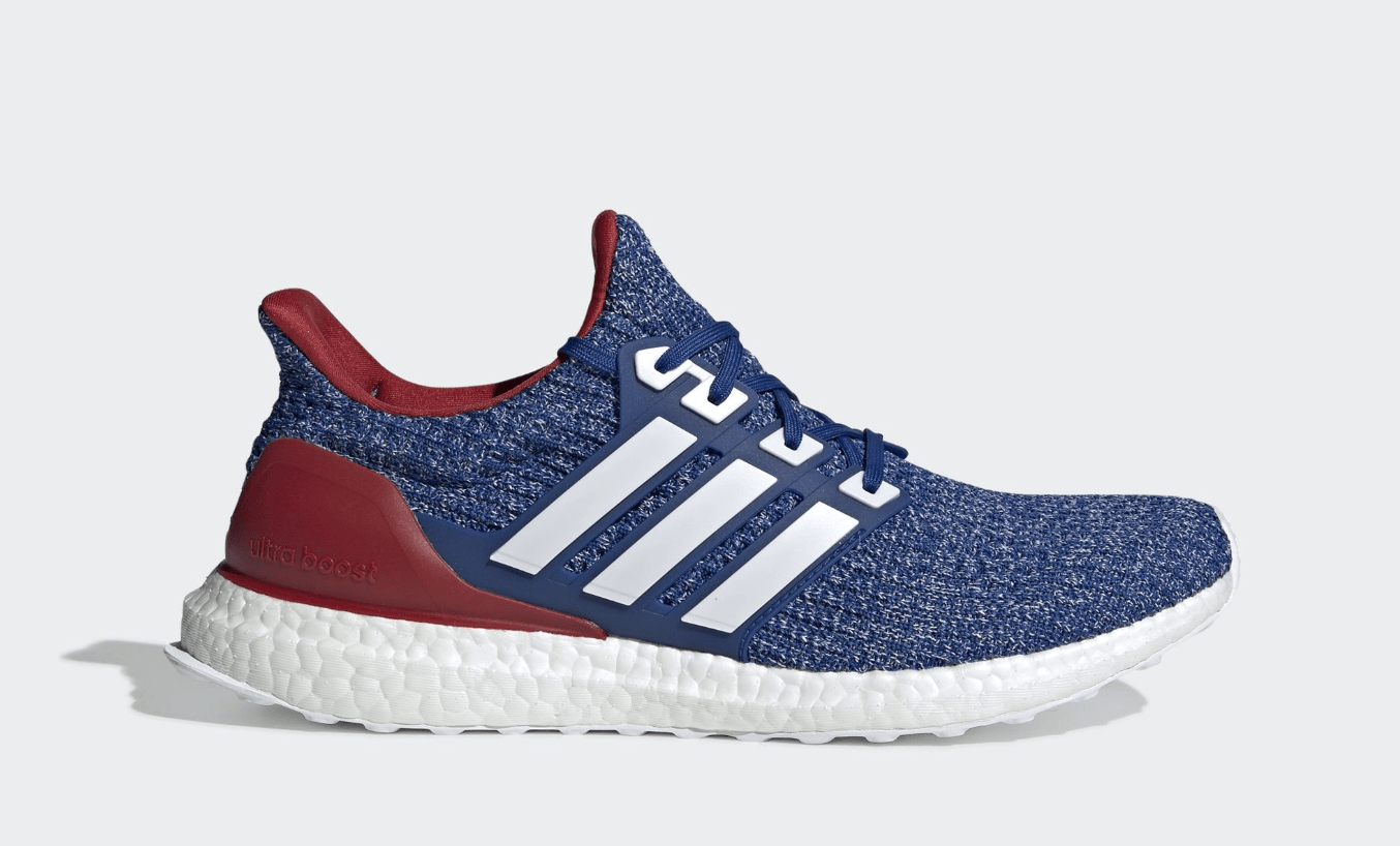 The adidas Ultra Boost 4.0 Surfaces in Bold Red and Blue Tones 781379a27