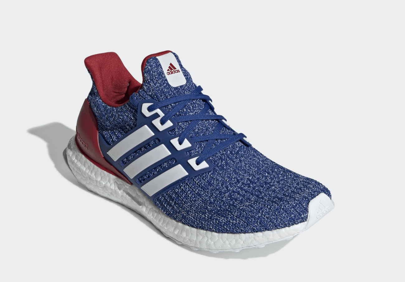 2ecb81e3748 adidas Ultra Boost Release Date  Spring 2019. Price   180. Color   Collegiate Royal White-Power Red Style Code  EE3704