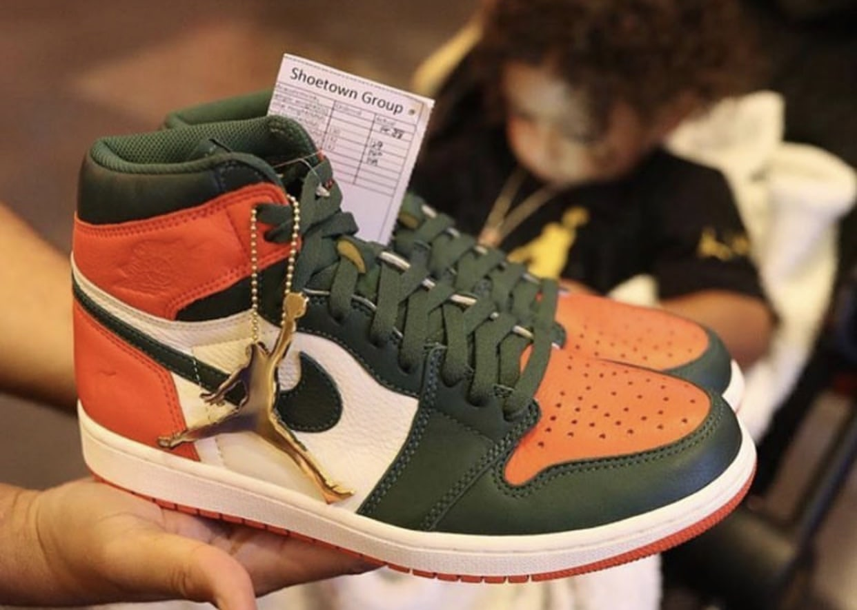 bcf336a83754e8 The post DJ Khaled Unveils the Solefly x Air Jordan 1 for Art Basel  appeared first on JustFreshKicks.