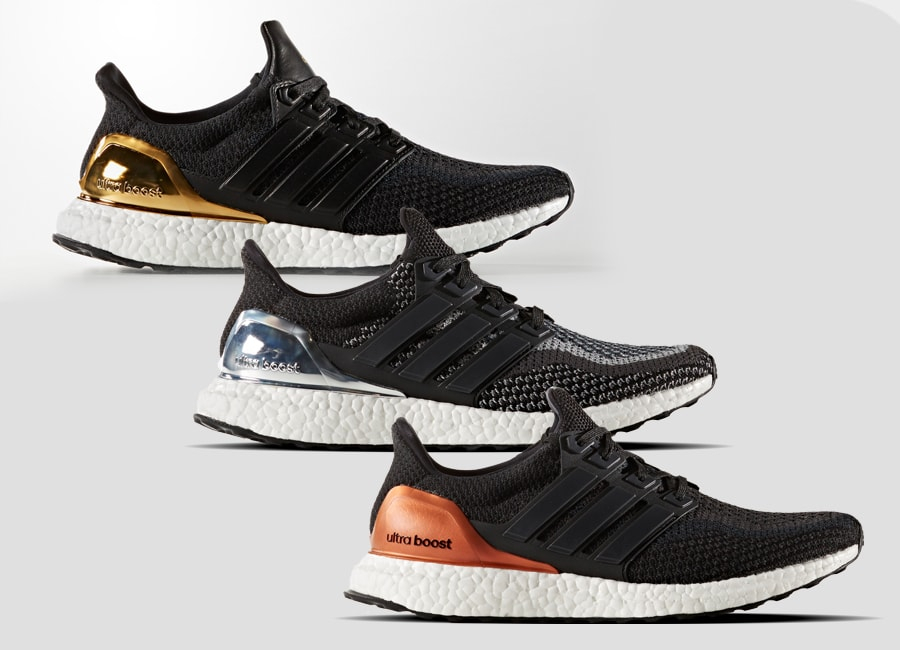 hot sale online 0b706 d286b adidas  Olympic Medal Ultra Boost 2.0 Pack Returns on Black Friday