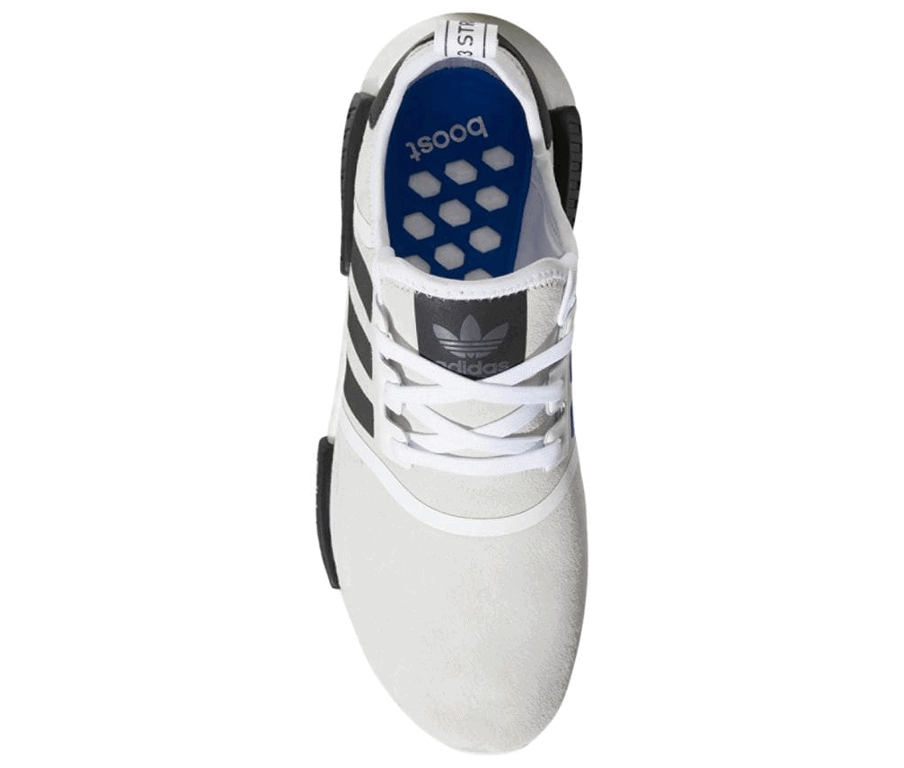 0a720d60a9f0f adidas NMD R1 Release Date  Available Now Price   130. Color   White Blue White Style Code  F97418