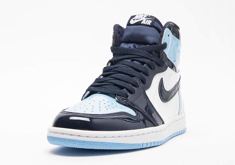 """huge selection of d3a59 07bae Air Jordan 1 Retro High OG """"Blue Chill"""" Release Date  February 9th, 2019.  Price   160. Color  Obsidian Blue Chill-White Style Code  CD0461-401"""